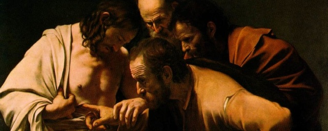 'The incredulity of Saint Thomas' by Caravaggio
