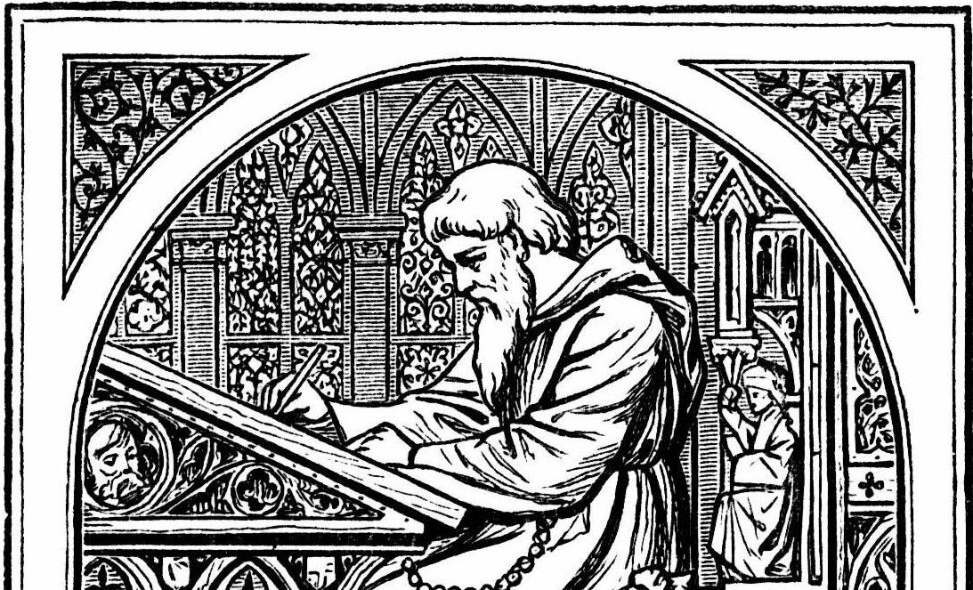 Medieval-writing-desk
