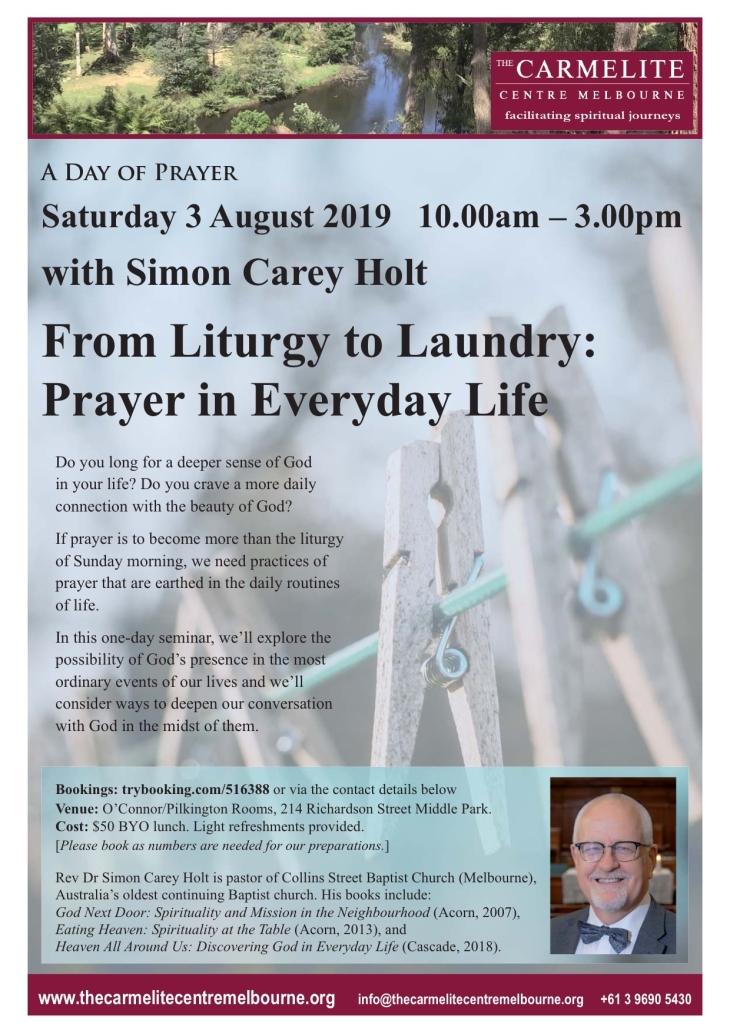 2019 08 Day of Prayer flyer